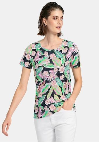 Looxent Rundhalsshirt »mit 1/2-Arm«, und Allover-Print kaufen