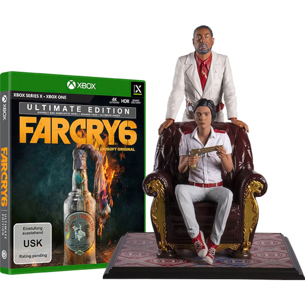 UBISOFT Spiel »Far Cry 6 Ultimate Edition + Antón & Diego Castillo Figur«, Xbox Series X