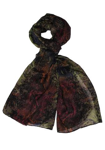 Silvio Tossi Modeschal, im mehrfarbigen Design kaufen