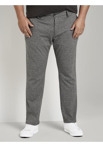 TOM TAILOR Men Plus 7/8 - Hose »Slim Fit Hose im Hahnentrittmuster« kaufen