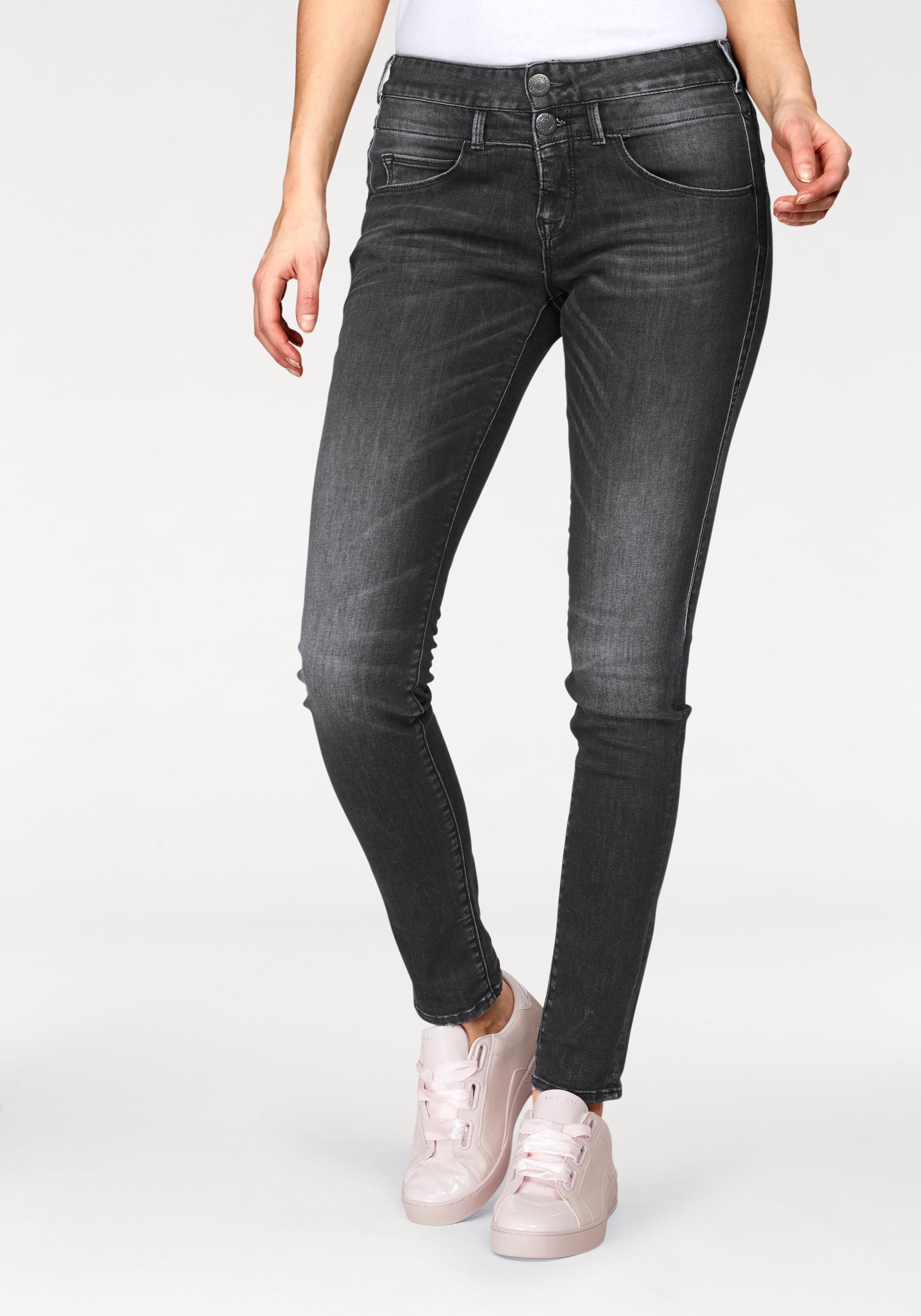 Herrlicher Slim-fit-Jeans BABY SLIM | Bekleidung > Jeans > Sonstige Jeans | Schwarz | Jeans | Herrlicher