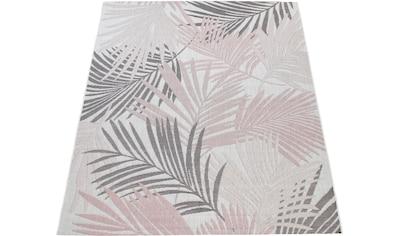 Paco Home Teppich »Kuba 130«, rechteckig, 4 mm Höhe, Rauten Design, In- und Outdoor... kaufen