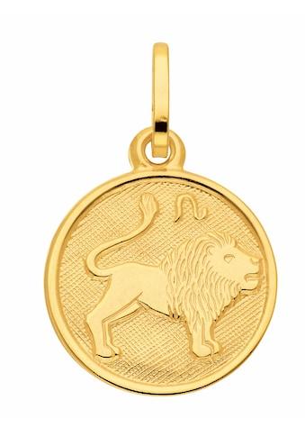 Adelia´s Kettenanhänger »333 Gold Sternzeichen Anhänger Löwe Ø 11,8 mm« kaufen