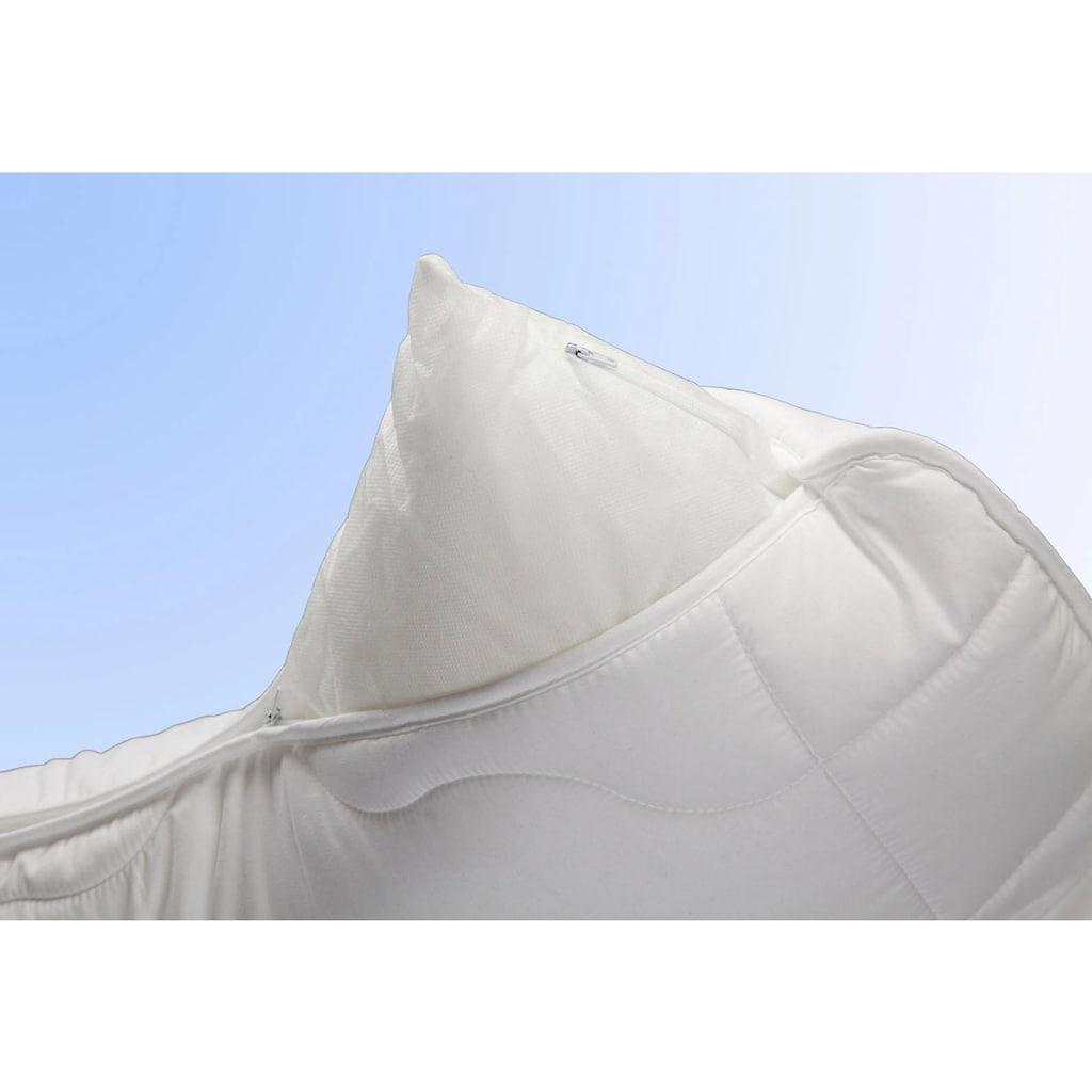 Jekatex Nackenstützkissen »Kissen Basic«, Füllung: Microfaser, Bezug: Polyester, (1 St.), Zertifiziert durch die Aktion gesunder Rücken (AGR) e.V.
