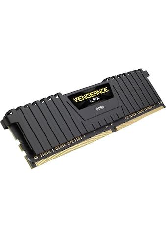 Corsair »VENGEANCE® LPX 32GB (2 x 16GB) DDR4 DRAM 3000MHz C16« PC - Arbeitsspeicher kaufen