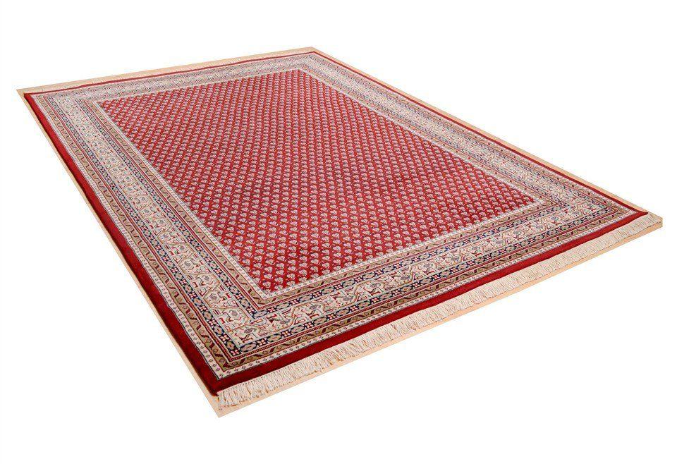 Orientteppich Abbas Meraj Mir THEKO rechteckig Höhe 12 mm manuell geknüpft