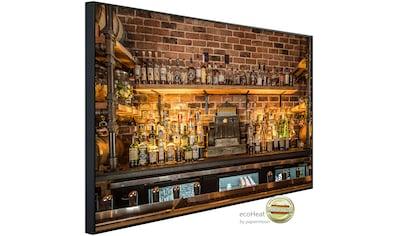 Papermoon Infrarotheizung »Vintage Prohibition Bar«, sehr angenehme Strahlungswärme kaufen