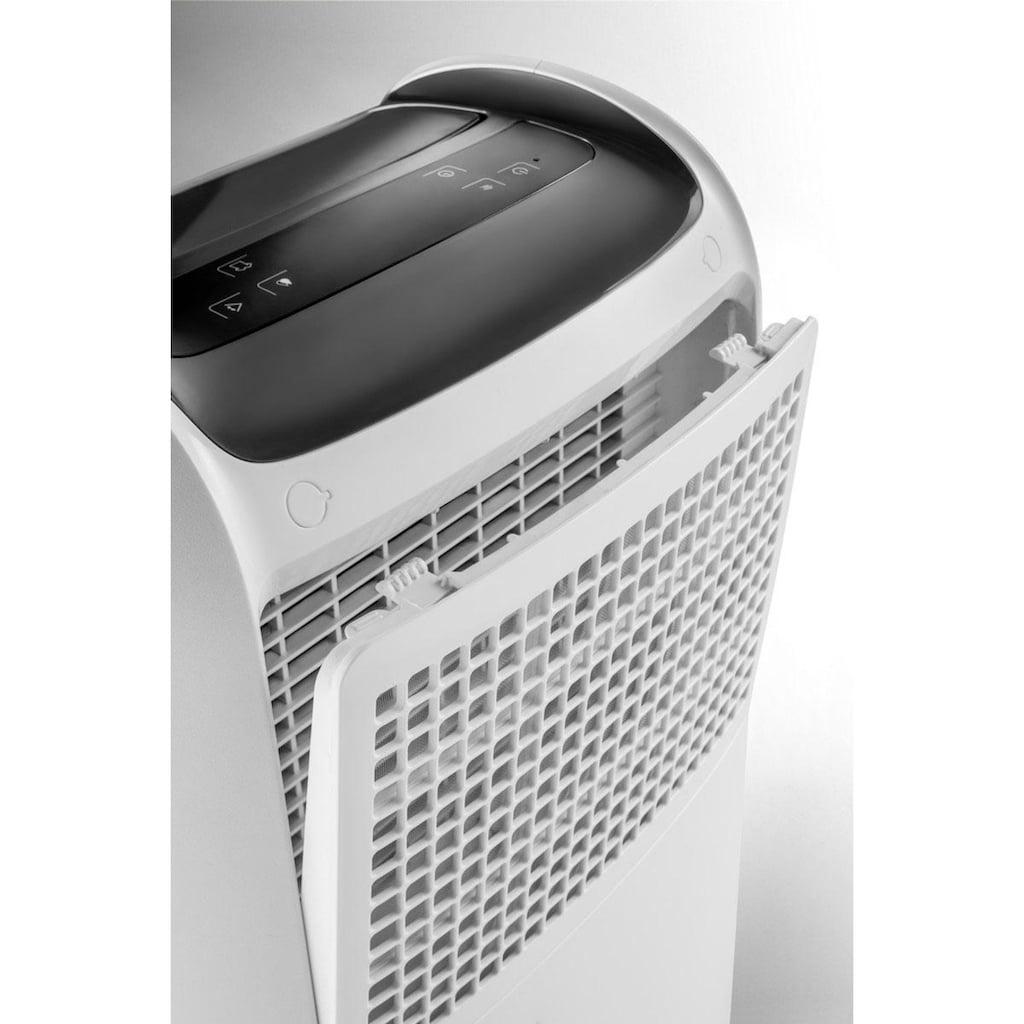 De'Longhi Luftentfeuchter »DDSX225«, für 100 m³ Räume, Entfeuchtung 25 l/Tag, Tank 5 l
