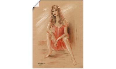 Artland Wandbild »Sehnsucht  -  Erotik Frauen« kaufen
