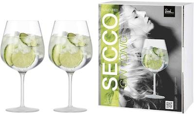 Eisch Weinglas »Secco Flavoured«, (Set, 2 tlg.), (Gin Tonic Glas), bleifrei, 735 ml,... kaufen
