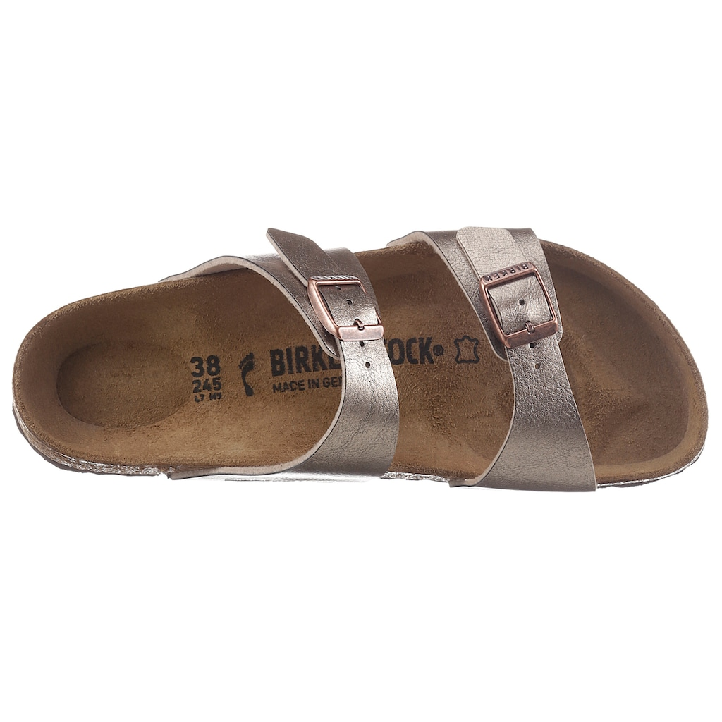 Birkenstock Pantolette »Sydney«, in schmaler Schuhweite