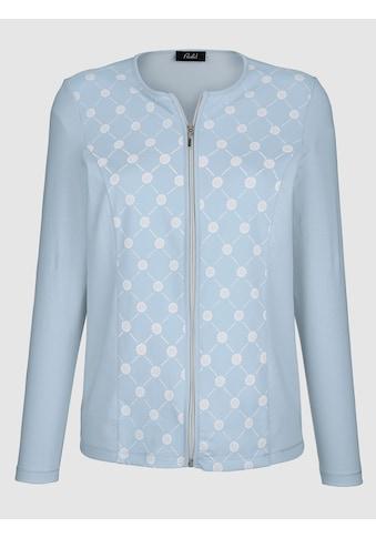 Paola Shirtjacke mit floralem Muster kaufen