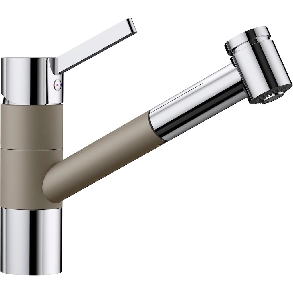 Blanco Küchenarmatur »TIVO-S«, Hochdruck, mit herausziehbarer Zweistrahlbrause