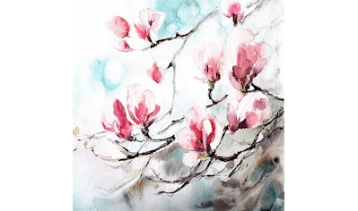 Home affaire Deco-Panel »Cannotstop / Magnolia, Spring«, 70/70/2 cm kaufen