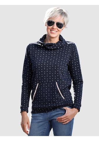 Dress In Sweatshirt mit Umlegekragen kaufen