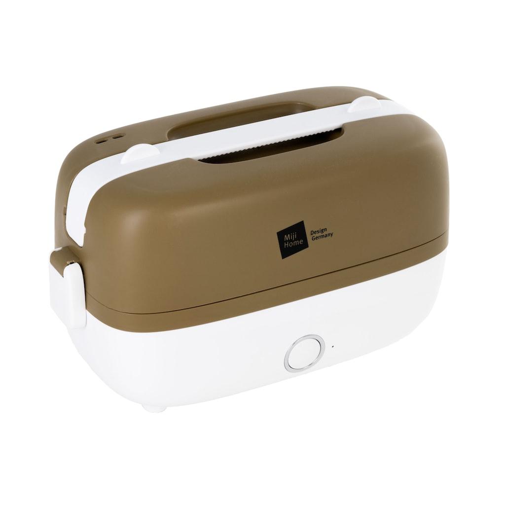 Miji Dampfgarer »Cookingbox One Olive/White WM023«, 250 W