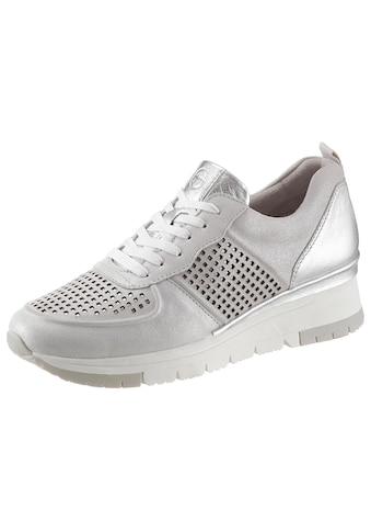 Tamaris Wedgesneaker »Pure Relax«, mit Metallic-Schimmer kaufen