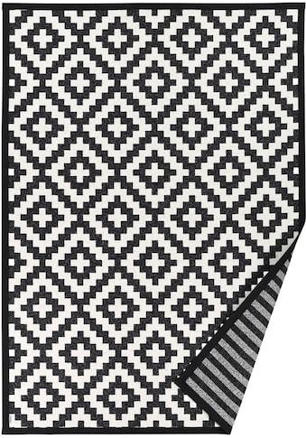 andas Teppich »Tomke«, rechteckig, 7 mm Höhe, Wendeteppich mit zwei Designs, Wohnzimmer kaufen