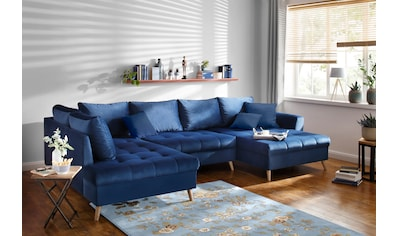 Home affaire Wohnlandschaft »Penelope Luxus«, mit besonders hochwertiger Polsterung... kaufen