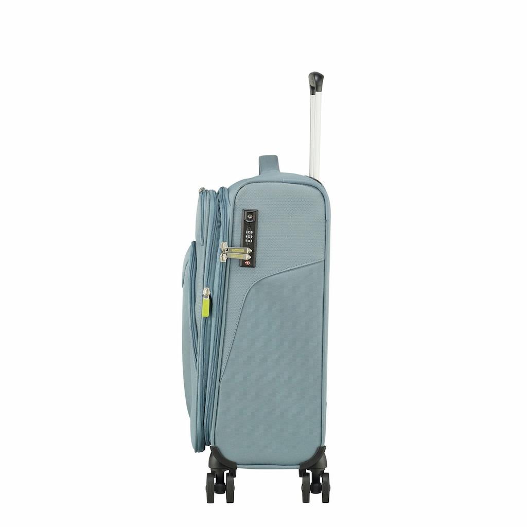 American Tourister® Weichgepäck-Trolley »Summerfunk, 55 cm«, 4 Rollen, mit Volumenerweiterung