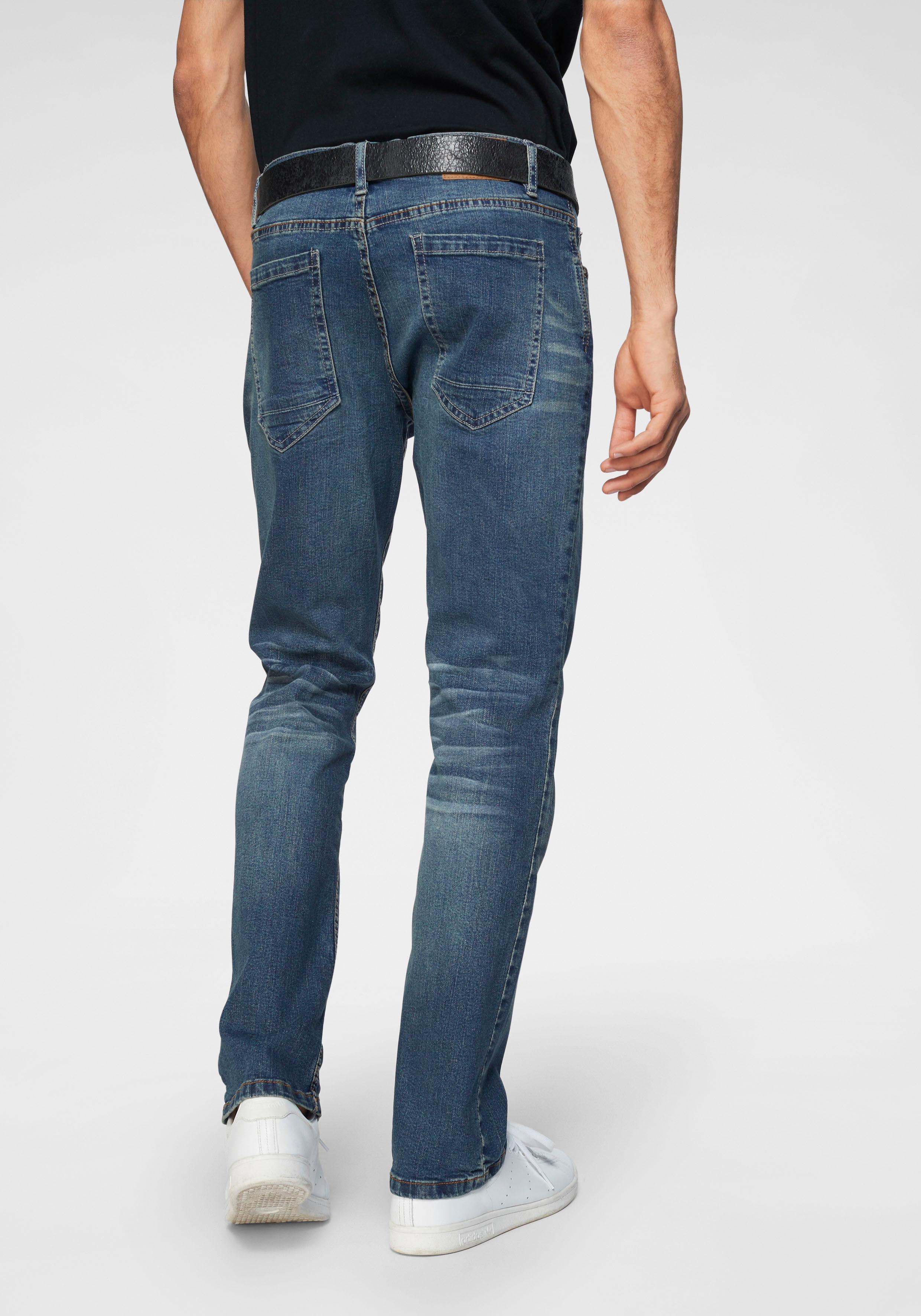 John Devin Straight-Jeans | Bekleidung > Jeans > Straight Leg Jeans | Blau | Jeans - Denim | JOHN DEVIN