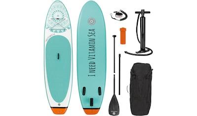 EASYmaxx Inflatable SUP-Board »MAXXMEE Stand-Up Paddle-Board 2020 weiß/blau«,... kaufen