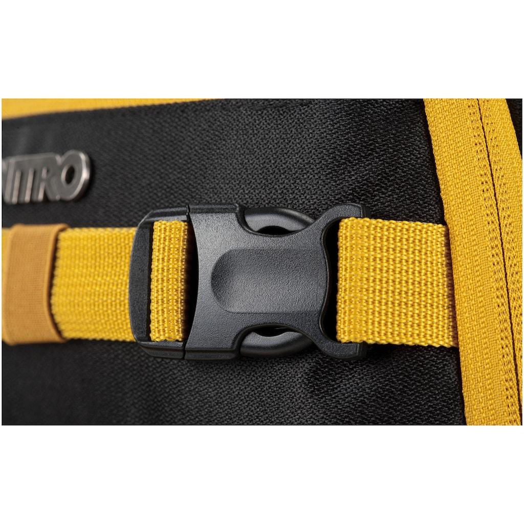 NITRO Schulrucksack »Chase, Golden Black«