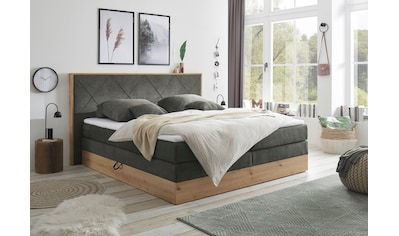 Boxspringbett »Bellevue«, (7 tlg.), mit 2 Bettkästen und Topper kaufen