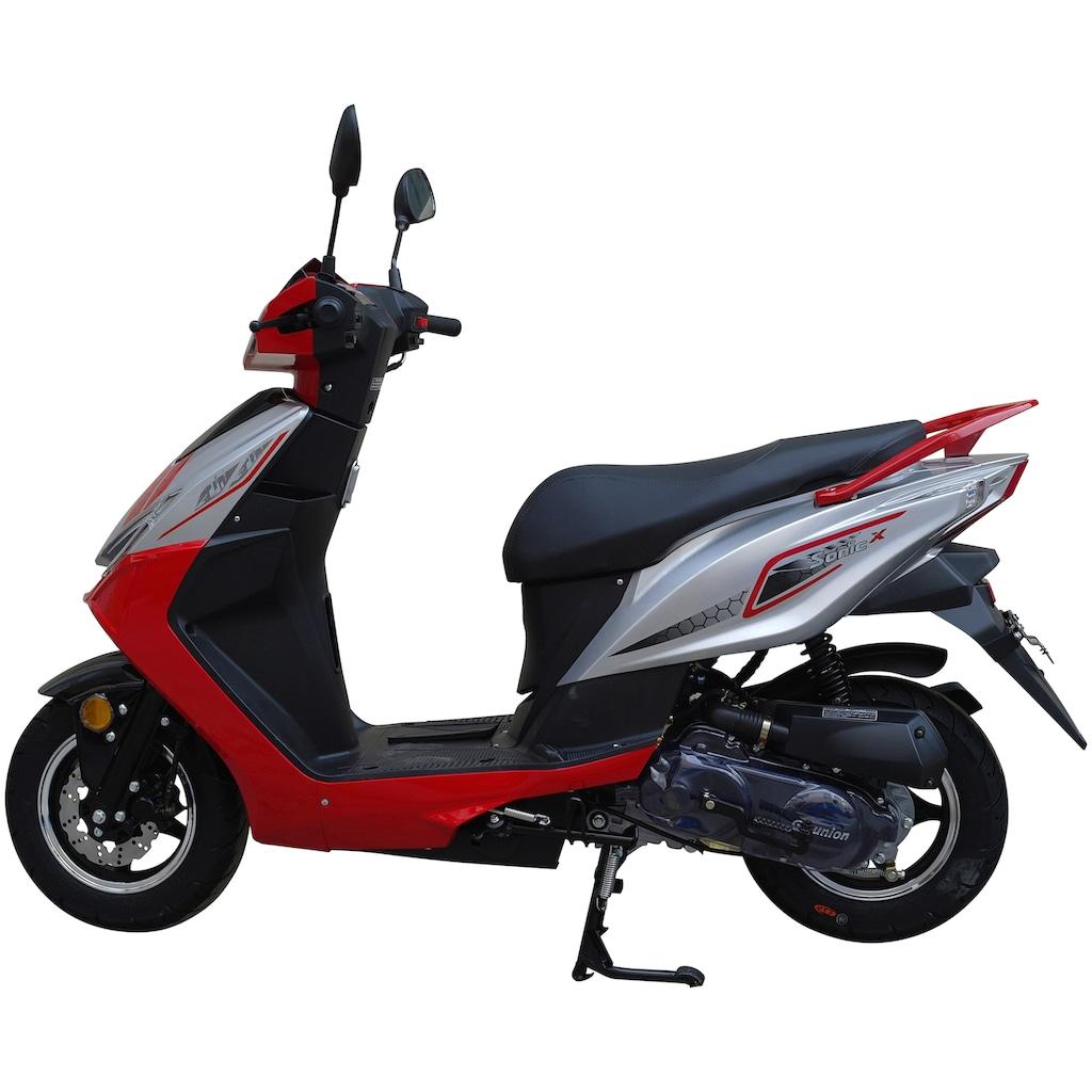 GT UNION Motorroller »Sonic X 45«, 50 cm³, 45 km/h, Euro 5, 3 PS