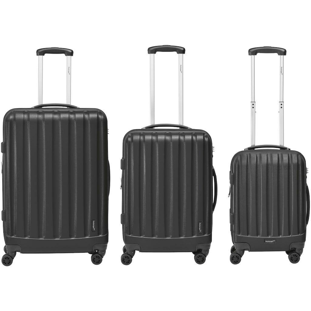 Packenger Trolleyset »Velvet«, (Set, 3 tlg.)