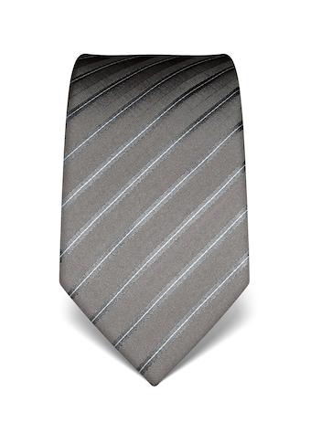 Vincenzo Boretti Krawatte in mehrfarbigem Streifen - Design kaufen