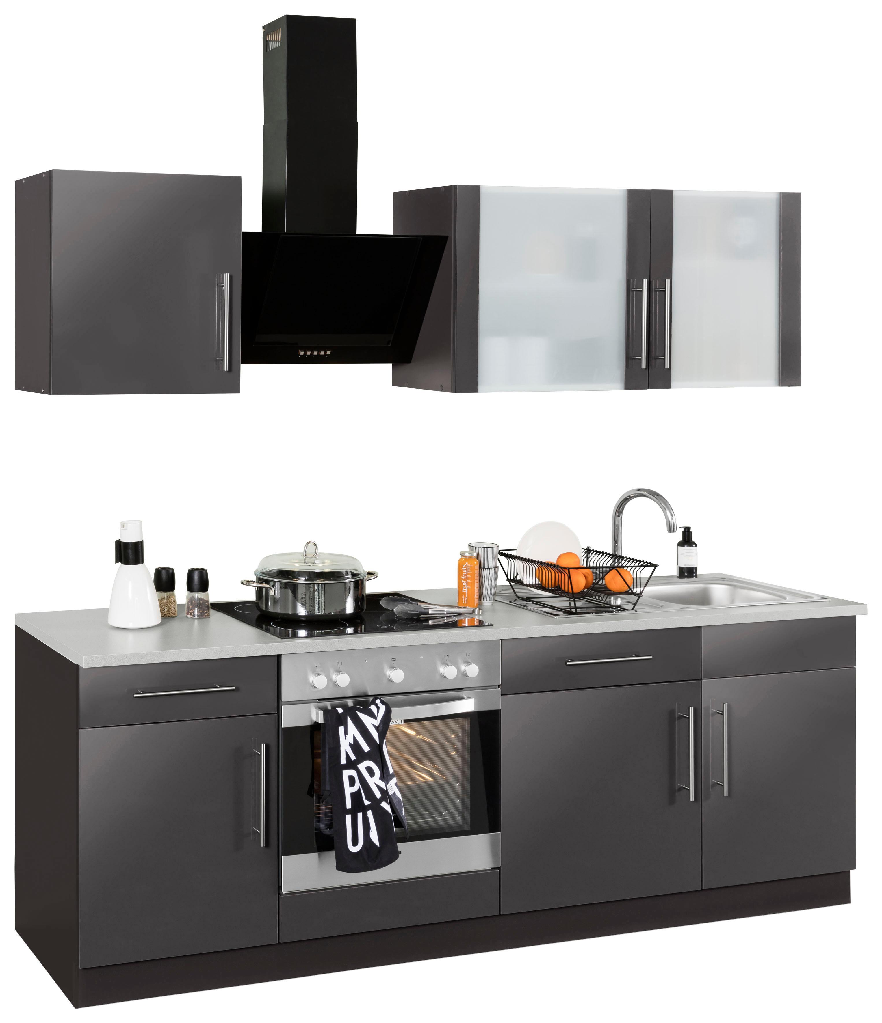 wiho Küchen Küchenzeile Cali | Küche und Esszimmer > Küchen > Küchenzeilen | Grau | Wiho Küchen