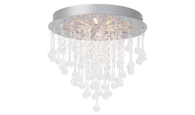 Brilliant Leuchten Svea LED Deckenleuchte 33cm chrom/transparent kaufen