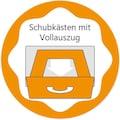 arthur berndt Babymöbel-Set »Joris«, (Spar-Set, 2 St.), mit Kinderbett und Wickelkommode; Made in Germany