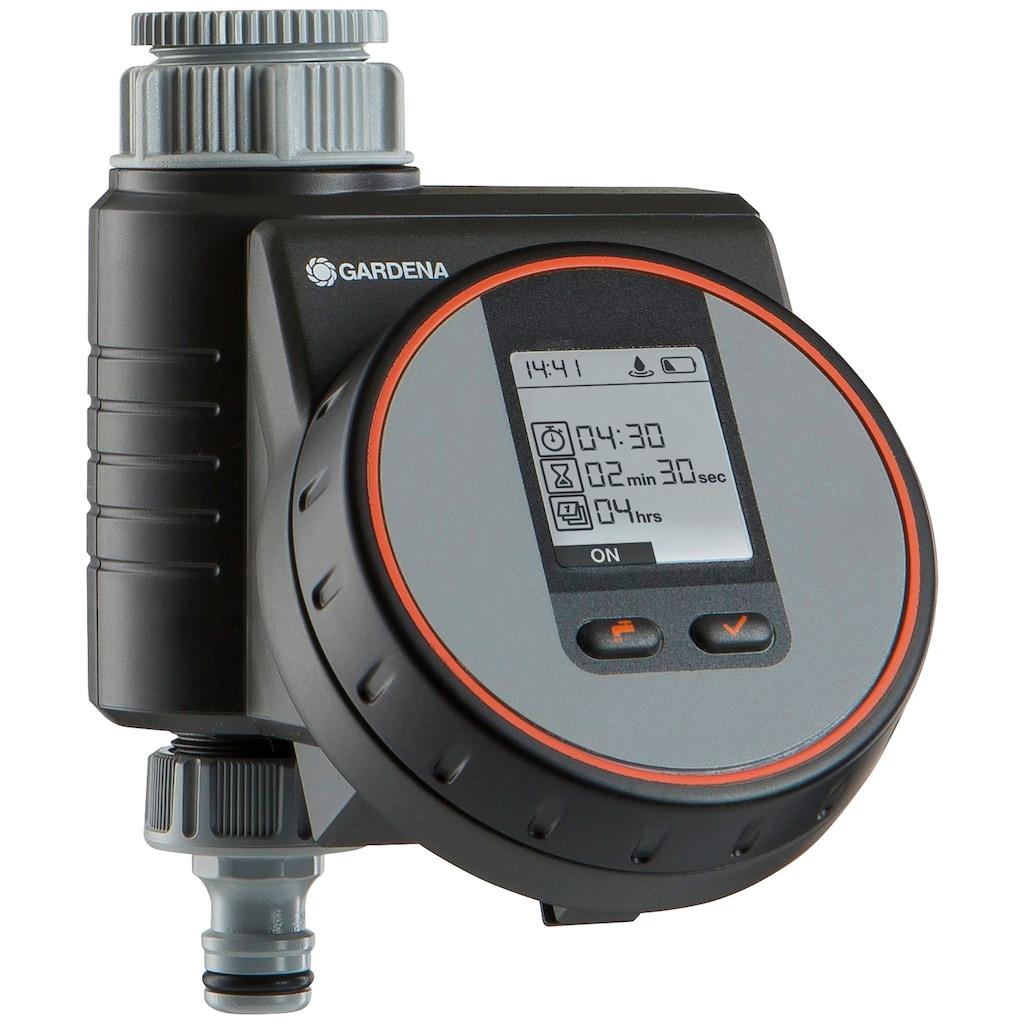 GARDENA Bewässerungssystem »Micro-Drip-System, 13012-20«, Start Set Pflanzreihen M automatic, Tropfrohr oberirdisch