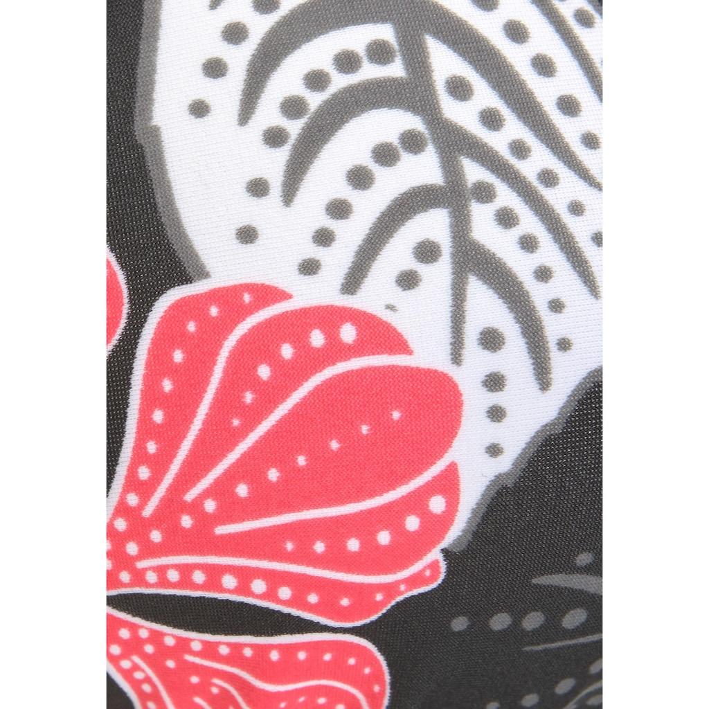 Buffalo Triangel-Bikini-Top »City«, im angesagten Flowerprint