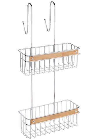 WENKO Badregal »Zerbo«, (1 St.), 2 Körbe, zum Einhängen kaufen