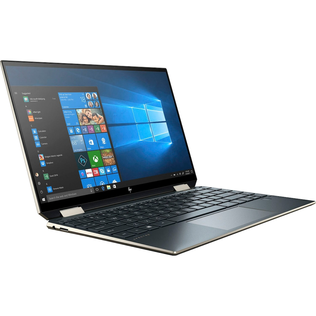 "HP Notebook »13-aw2006ng«, (33,8 cm/13,3 "" Intel Core i7 Iris© Xe Graphics\r\n 512 GB SSD), Kostenloses Upgrade auf Windows 11, sobald verfügbar"