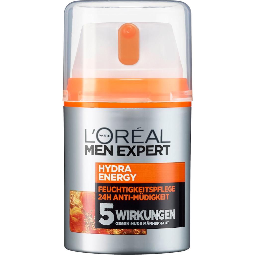 "L'ORÉAL PARIS MEN EXPERT Körperpflege-Set ""Energy Bag Geschenkset"", 4-tlg."