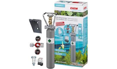 EHEIM Set: Aquariumpflege »SET400«, CO² - Düngeanlage mit 500g Flasche, Mehrweg kaufen
