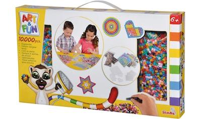 SIMBA Kreativset »Art & Fun Bügelperlen« kaufen