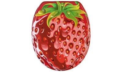 Sanilo WC-Sitz »Strawberry«, mit Absenkautomatik kaufen