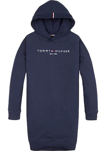 TOMMY HILFIGER Sweatkleid »ESSENTIAL HOODED« kaufen