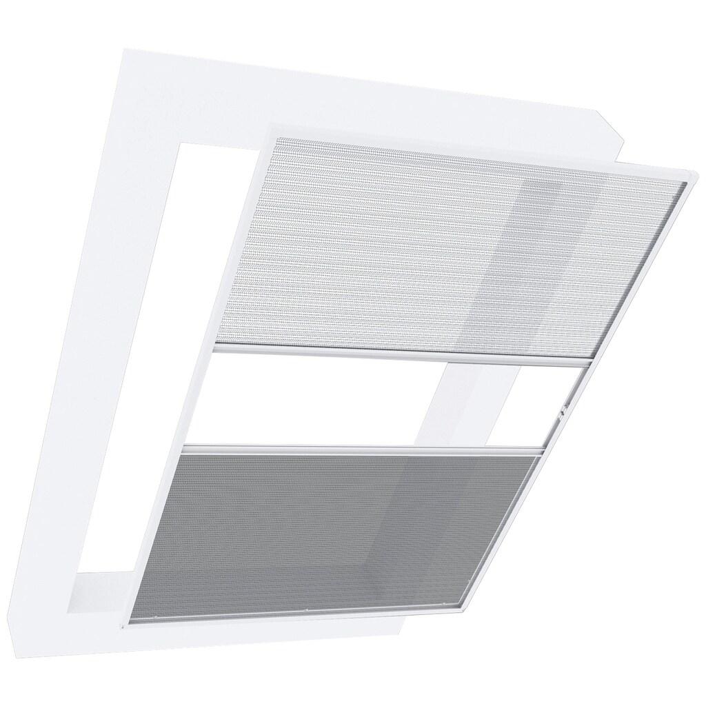 Windhager Insektenschutz-Dachfenster-Rollo »Dachfenster 2in1 EXPERT«, mit Plissee, BxH: 110x160 cm