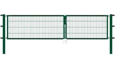 GAH ALBERTS Zaundoppeltür 350 cm Breite, in versch. Höhen kaufen
