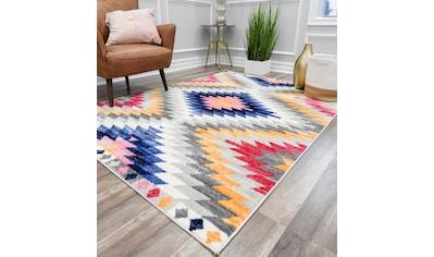 Teppich, »Bodrum Tribal«, CosmoLiving by Cosmopolitan, rechteckig, Höhe 8 mm, maschinell geknüpft kaufen