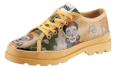 DOGO Schnürschuh »Sugar Skull« kaufen