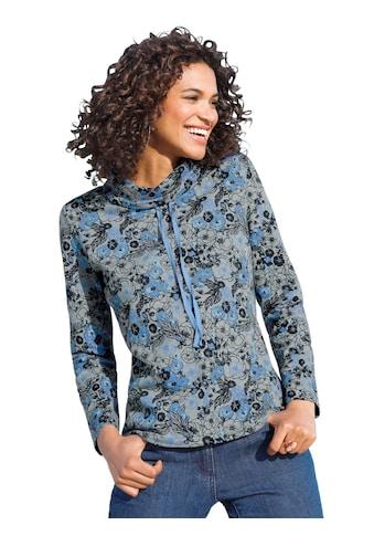 Classic Basics Sweatshirt mit verspieltem Blütendessin kaufen