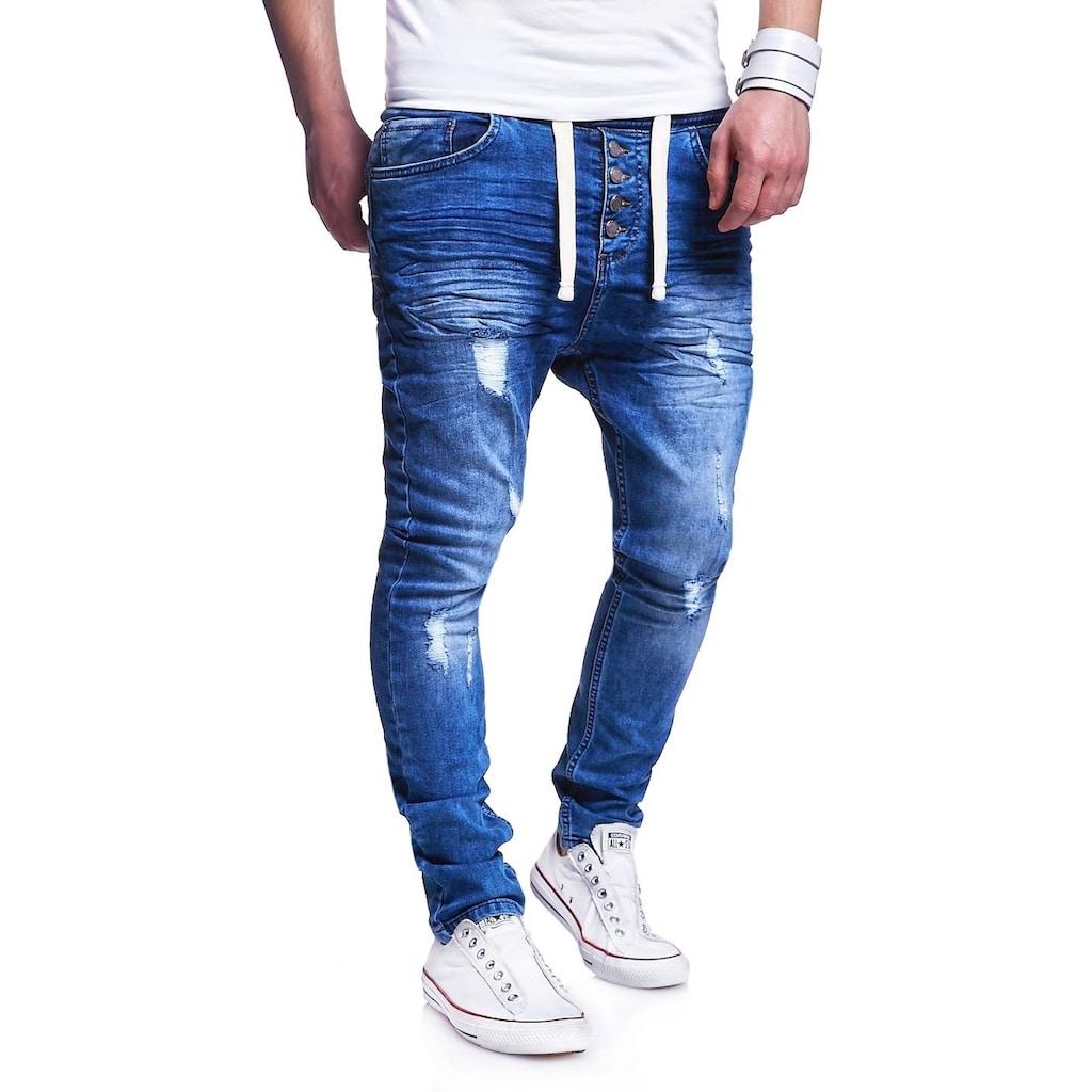 behype Slim-fit-Jeans »Mood«, im coolen Jogger-Stil