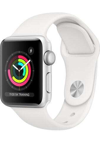 Apple Watch »Series 3 GPS, Aluminiumgehäuse mit Sportarmband 38mm«, ( Watch OS 5 inkl.... kaufen